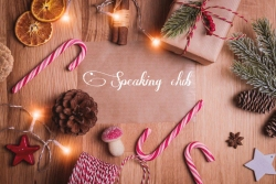 CHRISTMAS SPEAKING CLUB