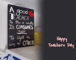 Happy Teacher′s Day!